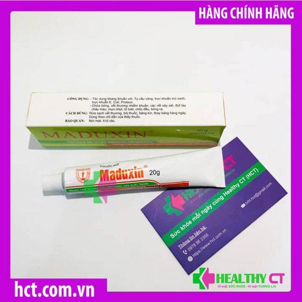 công dụng Thuốc Mỡ Trị Bỏng Maduxin HVQY