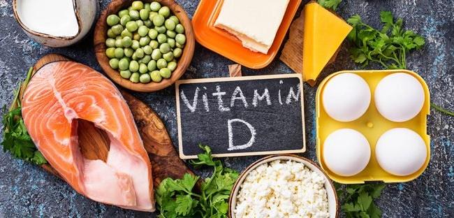 Hình ảnh các loại thực phẩm cung cấp nhiều Viamin D