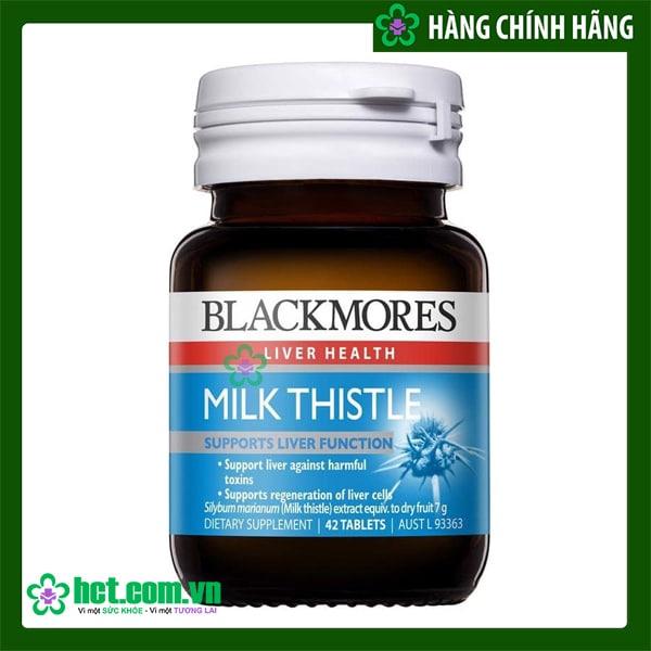 Viên uống Blackmores milk thistle