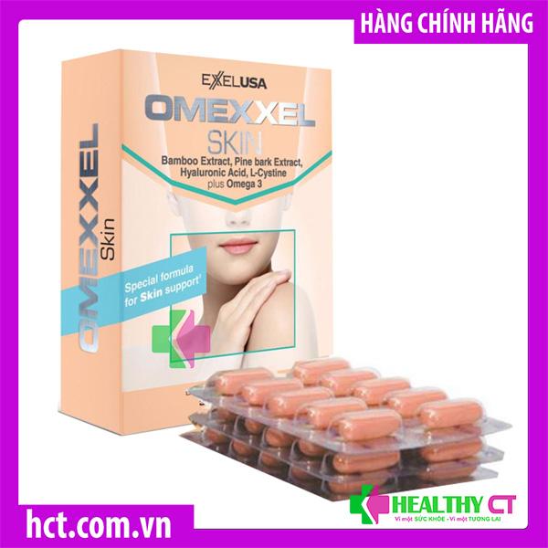 Omexxel Skin là viên uống trắng da, giảm thâm nám của Mỹ