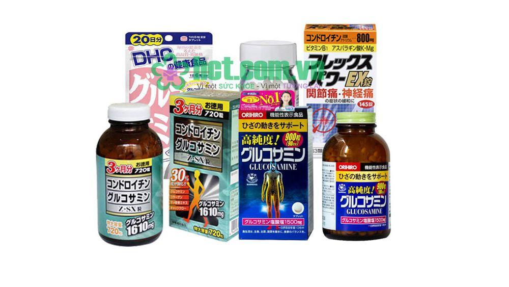Các loại Glucosamine của Nhật