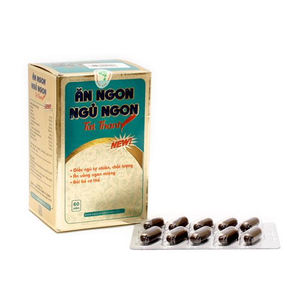 Thuốc thảo dược hỗ trợ ăn ngon và ngủ ngon
